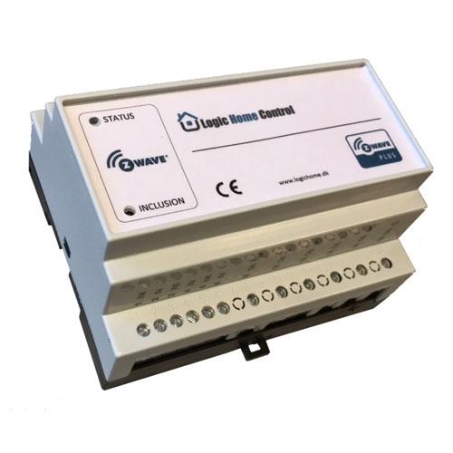 LogicHomeControl Relais Z-Wave Plus Dinrail 6 Z-Wave