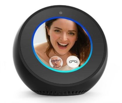 Amazon Echo Spot Zwart