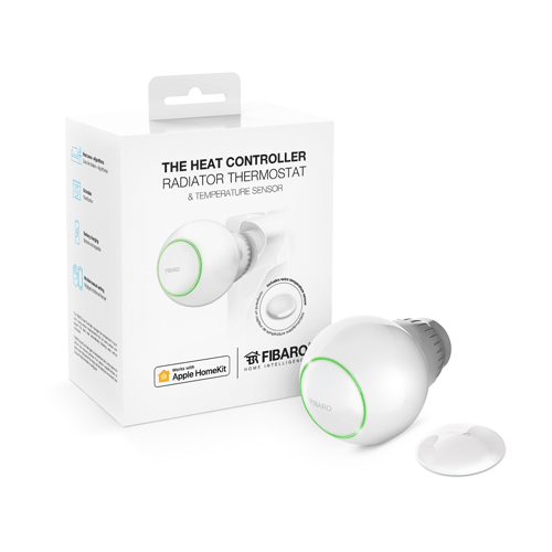 FIBARO Thermostatic Head With Temp Sensor Homekit