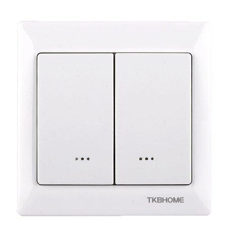 TKB Home Dimmer Z-Wave 300W dubbel Wit EOL