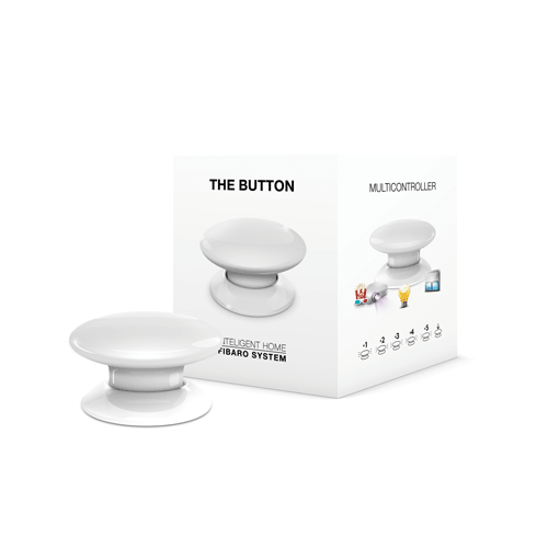 FIBARO Wandzender Z-Wave Plus Button Wit demo