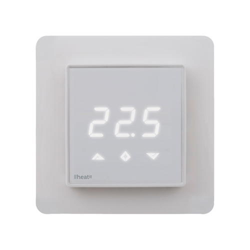 Heat It Wall Thermostat White