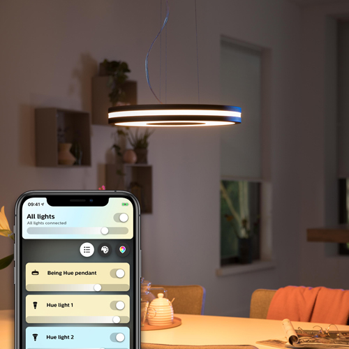 Philips Hue Plafondlamp Pendant Zwart EOL