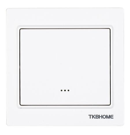 TKB Home Dimmer Compleet Z-Wave Plus 300W enkel Wit