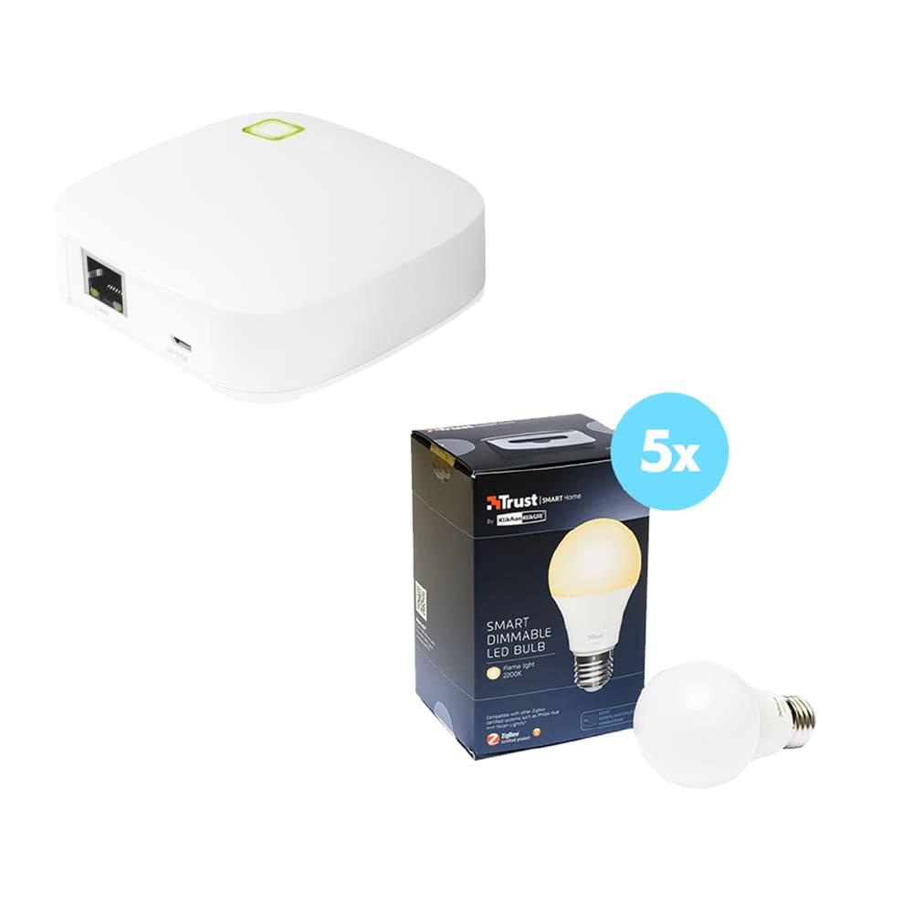 Trust Smarthome Starterpack Verlichting5 Z1