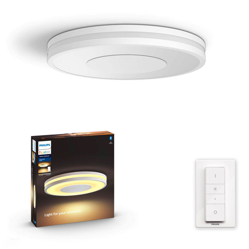 Philips Hue Being Plafondlamp Wit 27W + Dimmer switch