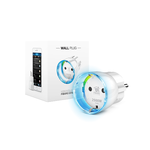FIBARO Smart Wallplug Z-Wave Plus 2500w V2