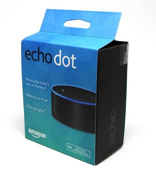 Amazon Echo Dot Zwart 2nd