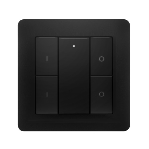 Heat It Wall Transmitter 4 Z-Wave Plus Black