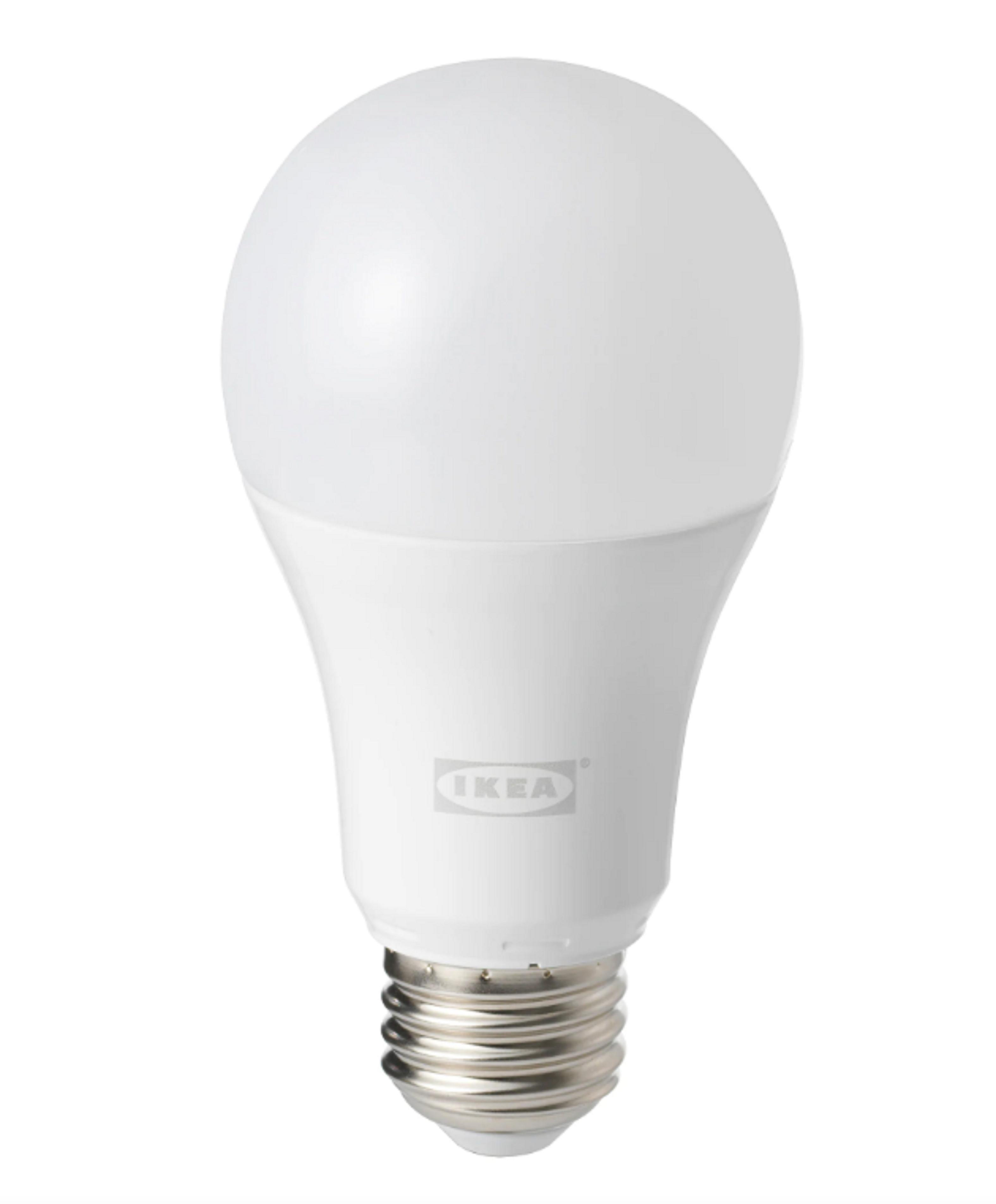 Ikea E27 Zigbee lamp wit spectrum Tradfri