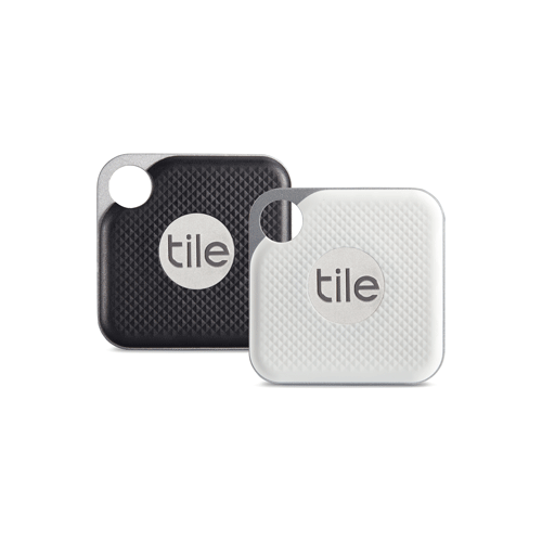 Tile Pro Black and White URB 2 Pack Sleutelhanger