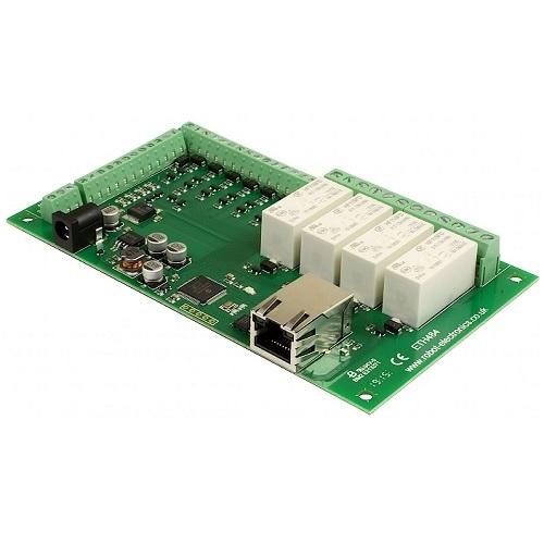 Devantech Ethernet Relais 4 Schakelaar