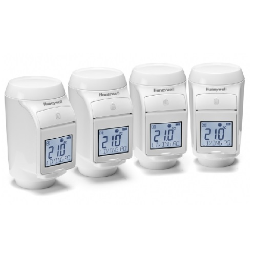 Honeywell Thermostaatset 4 Kranen Evohome