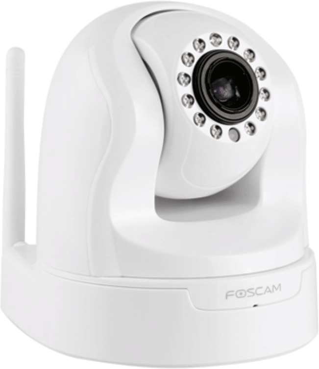 Foscam 1.3mp Pt Indoorcamera Fi9826 White