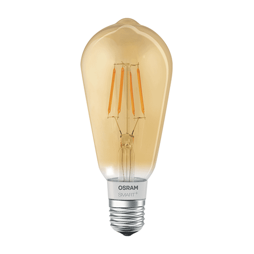 Osram LED Filament Lamp Edison Goud E27 Homekit