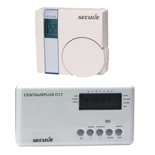 Secure Secure Wand Thermostaat Met 7 Daagse Timer