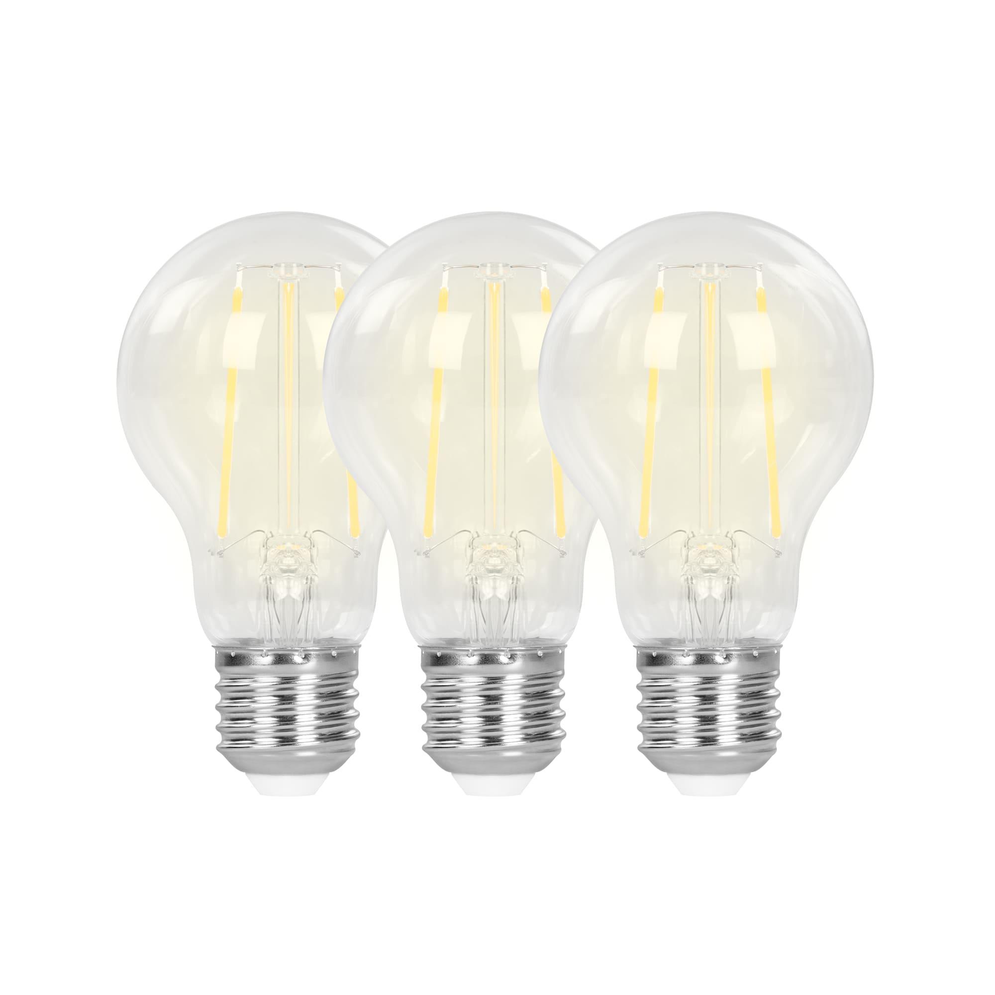 Hombli Slimme Filament Lamp E27 7W WiFi 3 pack