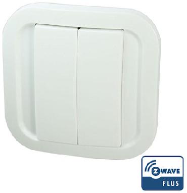 NodOn Wandzender Z-wave Plus vier Soft Remote Cozy White demo