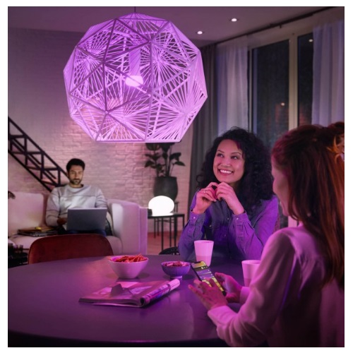 Philips Hue E27 Starterset met 3 White and Color lampen DEMO