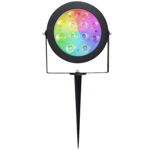 Gledopto RGB+Dual White LED tuinspot 12W Zigbee
