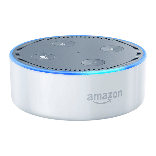 Amazon Echo Dot Wit 2nd EOL