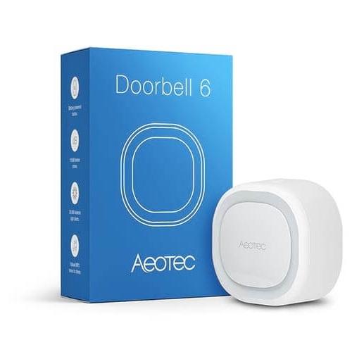 Aeon Labs Slimme Deurbel Met Sirene Z-Wave Plus