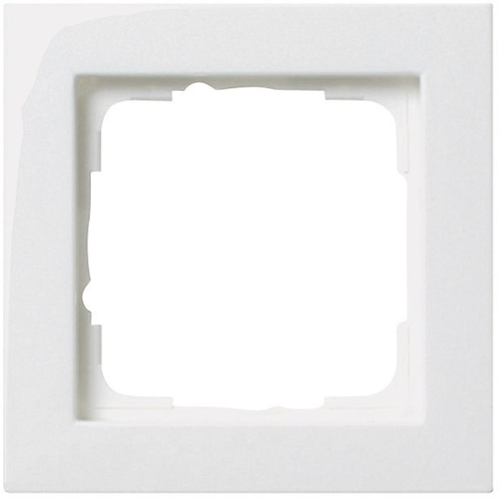 Gira Frame Single White