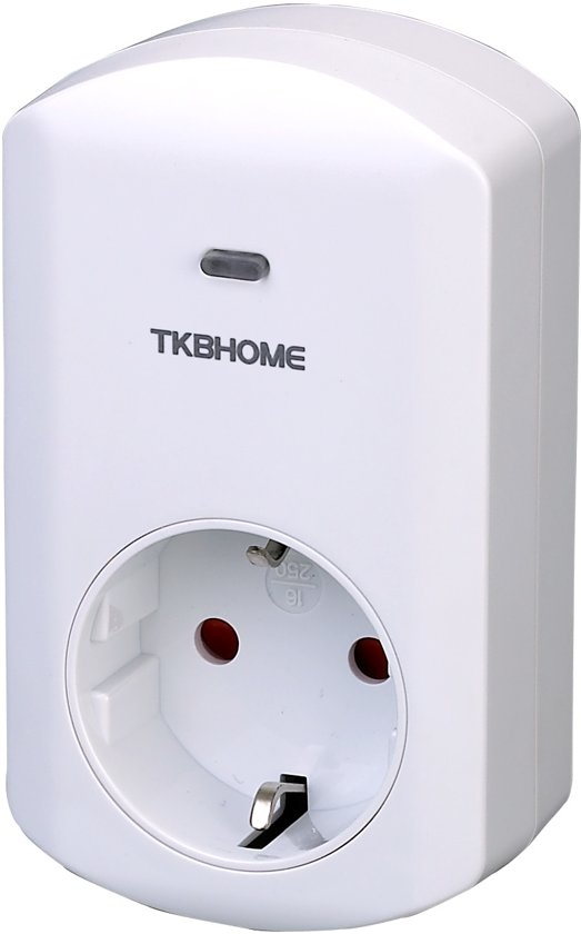 TKB Home Wallplug Smart Dimmer Z-Wave Plus 300w Tkb Home