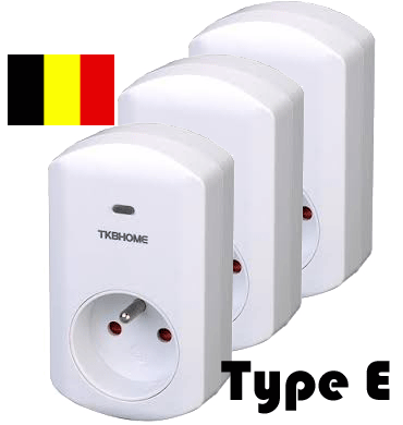 TKB Home Wallplug Set Z-Wave Plus 3500w Be Tkb Home
