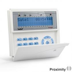 Satel Lcd Prox Keypad Blue Integra Satel