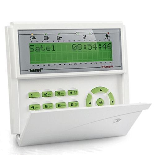 Satel Green Integra Lcd Prox Controlpanel-Keypad