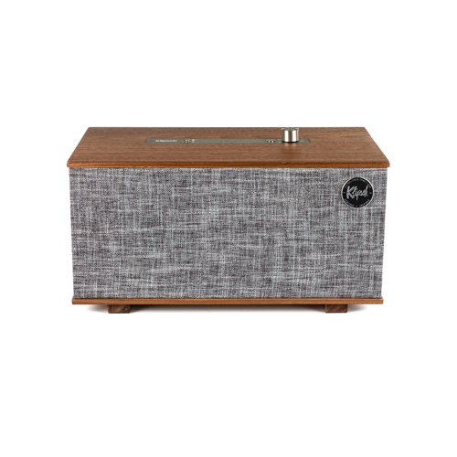 klipsch Smart Speaker The Three met Google Home Walnoot Klipsch