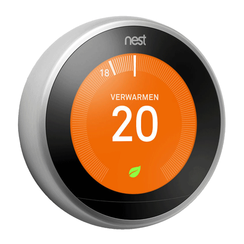 Nest Thermostaat Opentherm Chrome V3 DEMO
