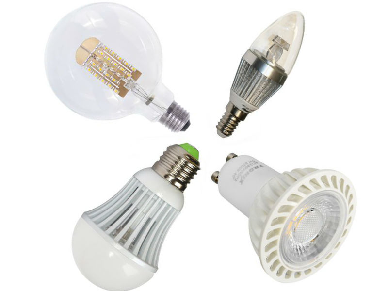 Tronix Set 4 Led Lampen