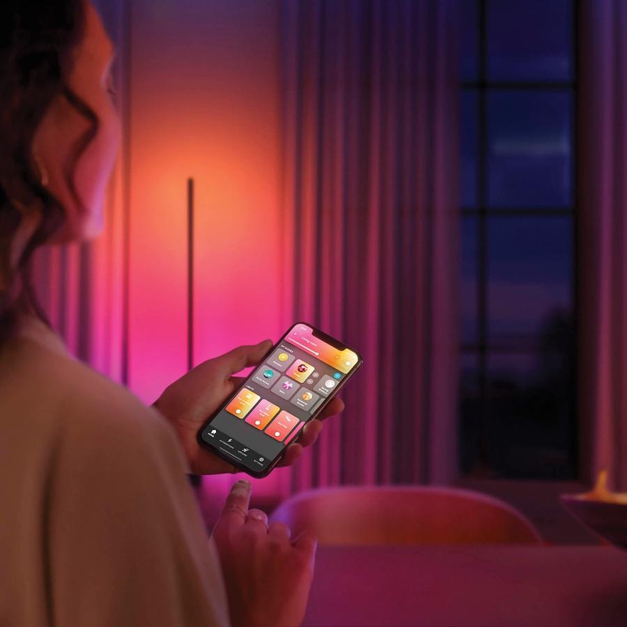 Philips HUE Signe Gradient Vloerlamp Zwart