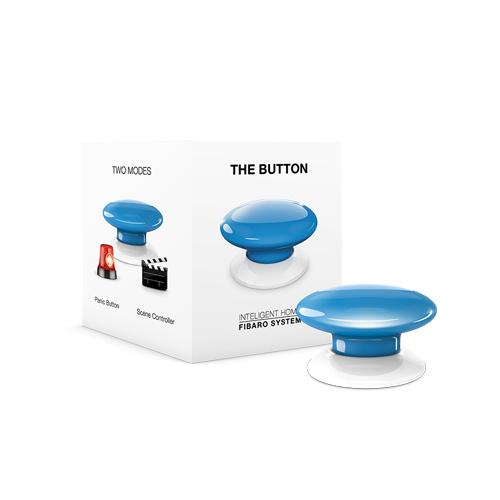 FIBARO Wandzender Z-Wave Plus Button Blauw