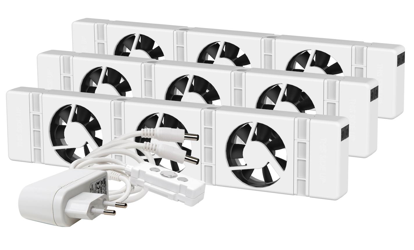 Speedcomfort Slimme radiatorventilator triple pack 2021