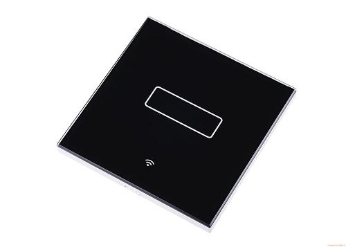 WiHouse Schakelaar Wifi 2300W enkel Compleet Zwart