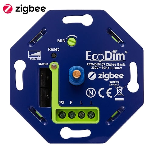 EcoDim Basic draaidimmer Zigbee