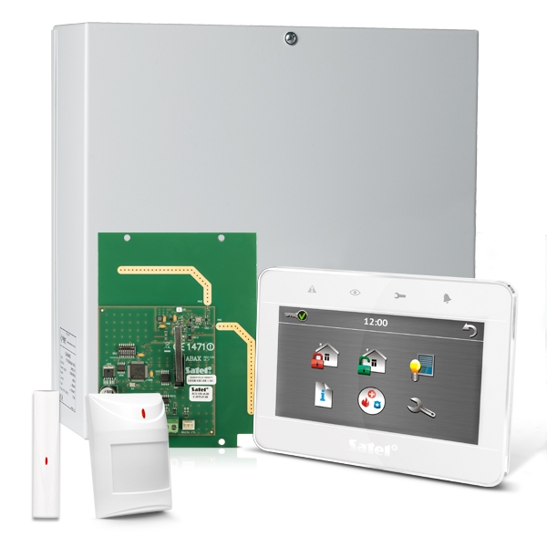 Satel Integra 32 Rf Pack Wit Touchscreen Bediendeel