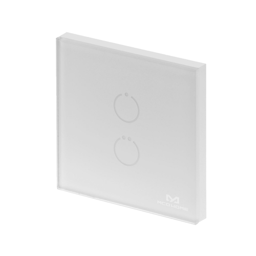 MCO home Touch Panel Switch 2 button