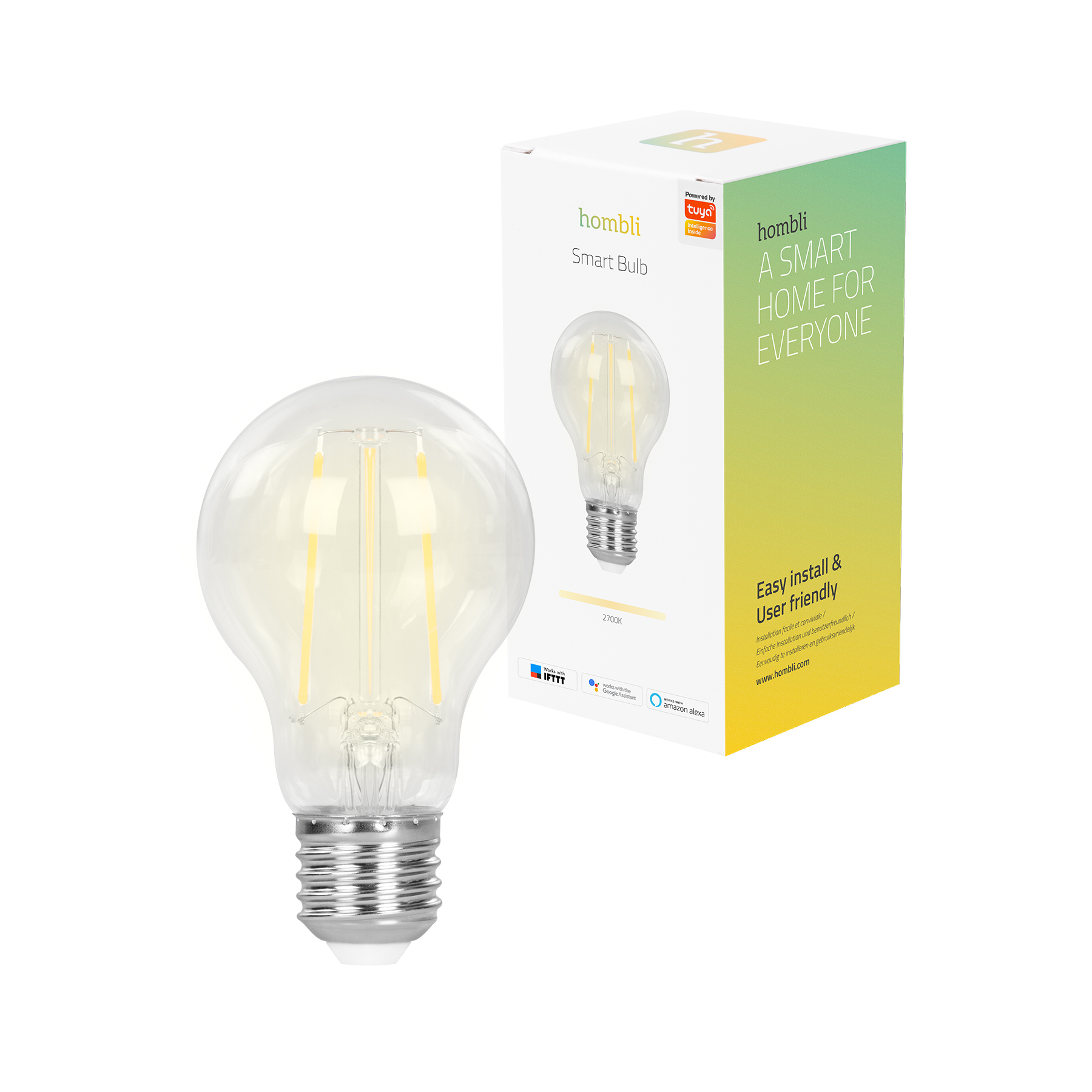 Hombli Smart Filament Bulb E27 Wifi