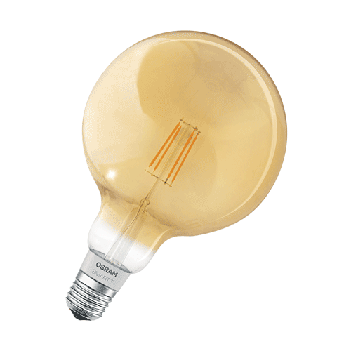 Osram LED Filament Lamp Globe Goud E27 Homekit