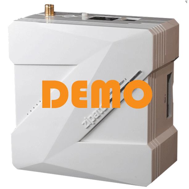 Zipato Zipabox demo met PRO licentie