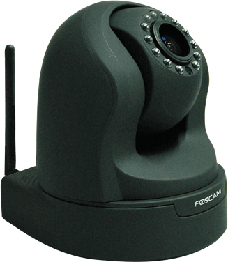 Foscam 1.3mp Pt Binnencamera Fi9826w Zwart Eol