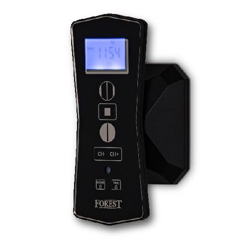 Forest RF afstandsbediening met timer zwart Diamond Sense