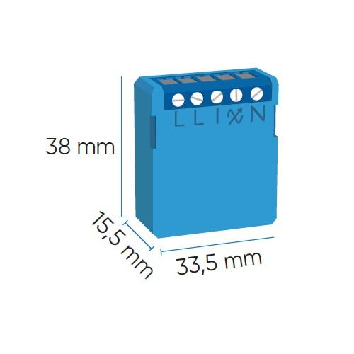 Qubino Mini dimmer inbouw 200W Z-wave plus