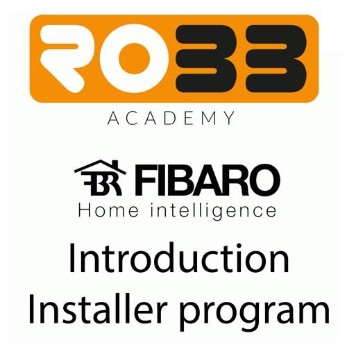 ROBB Smarrt ROBB Smarrt Fibaro Introductie Cursus Pro