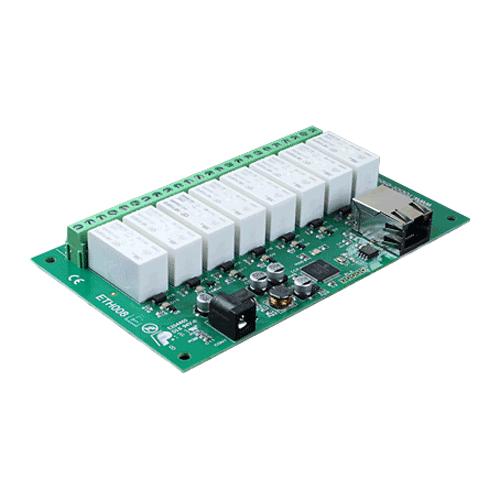Devantech Ethernet Relais 8 Schakelaar