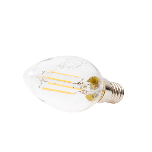 Uniledlight E14 3.5W Led Filament Lamp Warm Wit